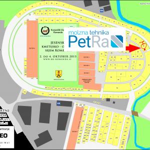PetRa na sejmu Komenda tudi v oktobru 2015