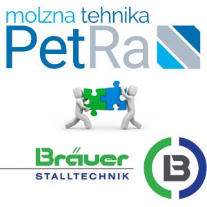Sklenjeno novo partnerstvo med PetRa in Bräuer